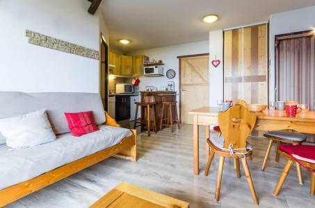 Rent in ski resort 3 room apartment 6 people (C93) - Résidence les Pistes - Le Corbier - Living room