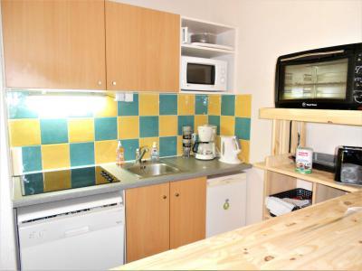 Rent in ski resort 3 room apartment 6 people (C99) - Résidence les Pistes - Le Corbier - Kitchen