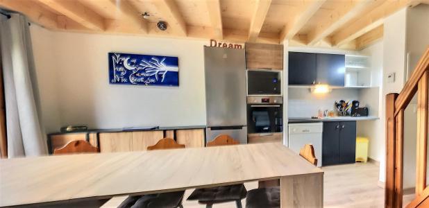 Rent in ski resort 4 room duplex apartment 10 people (A45) - Résidence les Pistes - Le Corbier