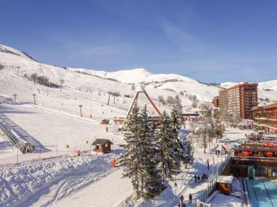 Rent in ski resort 1 room apartment 4 people (42) - Vostok Zodiaque - Le Corbier - Apartment