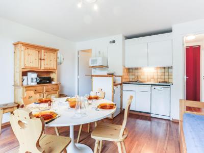Rent in ski resort 3 room apartment 6 people (57) - Vostok Zodiaque - Le Corbier - Apartment