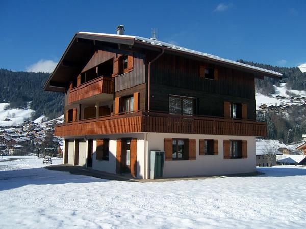 Ski hors saison Chalet Charvin