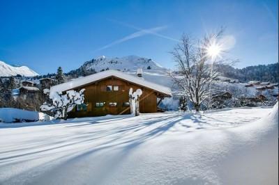 Ski en mars Chalet Joubarde