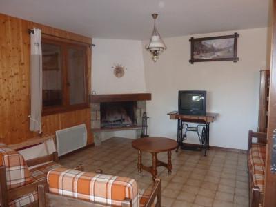 Location au ski Appartement 3 pièces cabine 7 personnes (303) - Chalet La Cytheria - Le Grand Bornand - Cheminée