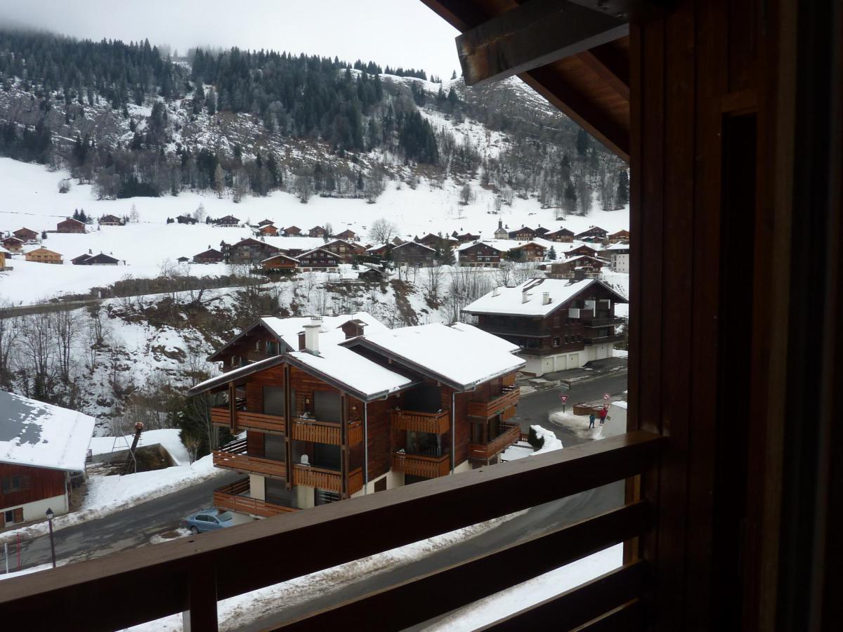 Location au ski Appartement 3 pièces 6 personnes (302) - Chalet La Cytheria - Le Grand Bornand - Extérieur hiver