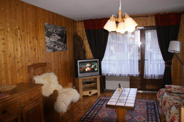 Location au ski Studio coin montagne 4 personnes - Residence Bellachat - Le Grand Bornand - Séjour