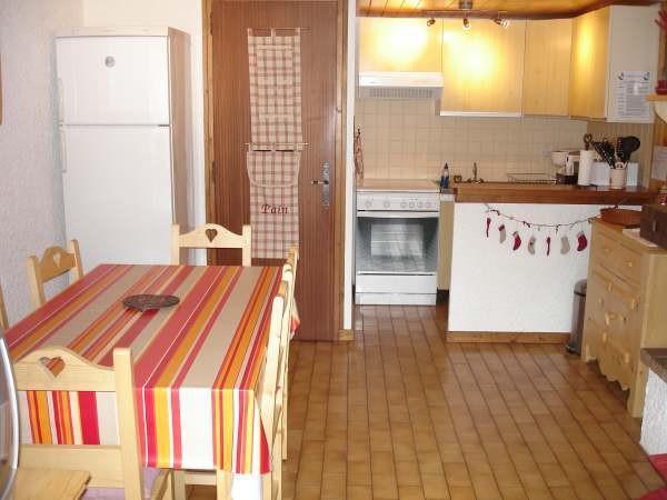 Location au ski Studio mezzanine 4 personnes (1) - Residence Bellachat - Le Grand Bornand - Kitchenette