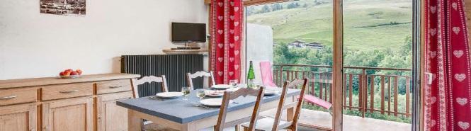 Location au ski Appartement 2 pièces 5 personnes (305) - Residence L'androsace - Le Grand Bornand