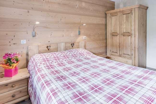 Location au ski Appartement 2 pièces 4 personnes (304) - Residence L'androsace - Le Grand Bornand - Chambre