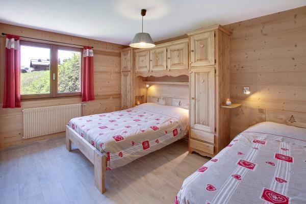 Location au ski Appartement 2 pièces 5 personnes (303) - Residence L'androsace - Le Grand Bornand - Chambre