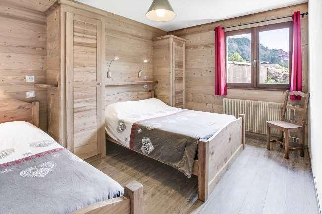 Location au ski Appartement 2 pièces 5 personnes (305) - Residence L'androsace - Le Grand Bornand - Lit simple