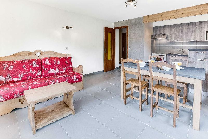 Location au ski Appartement 2 pièces 5 personnes (305) - Residence L'androsace - Le Grand Bornand - Séjour