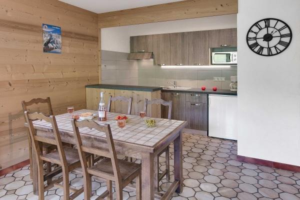 Location au ski Appartement 2 pièces 5 personnes (306) - Residence L'androsace - Le Grand Bornand - Kitchenette