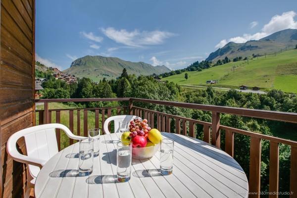Location au ski Appartement 2 pièces 5 personnes (308) - Residence L'androsace - Le Grand Bornand - Appartement