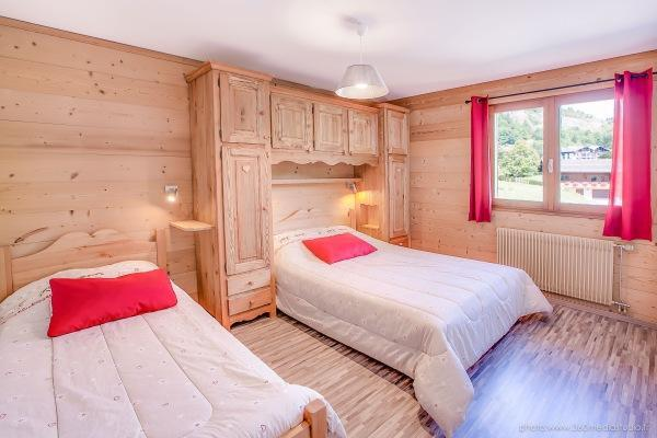 Location au ski Appartement 2 pièces 5 personnes (308) - Residence L'androsace - Le Grand Bornand - Lit simple