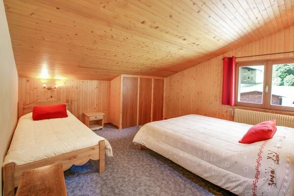 Location au ski Appartement 3 pièces 6 personnes (309) - Residence L'androsace - Le Grand Bornand - Chambre