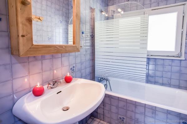 Location au ski Appartement 3 pièces 6 personnes (310) - Residence L'androsace - Le Grand Bornand - Baignoire
