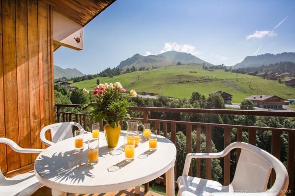 Location au ski Appartement 3 pièces 6 personnes (310) - Residence L'androsace - Le Grand Bornand - Balcon