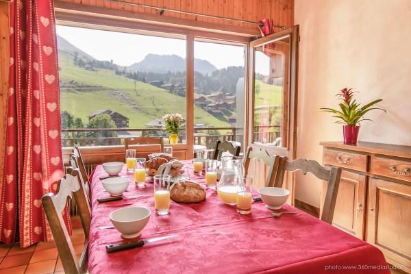 Location au ski Appartement 3 pièces 6 personnes (310) - Residence L'androsace - Le Grand Bornand - Séjour