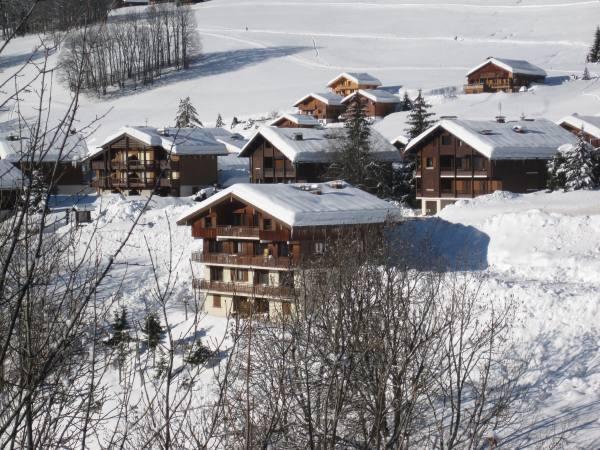 Location au ski Appartement 2 pièces 5 personnes (303) - Residence L'androsace - Le Grand Bornand - Extérieur hiver