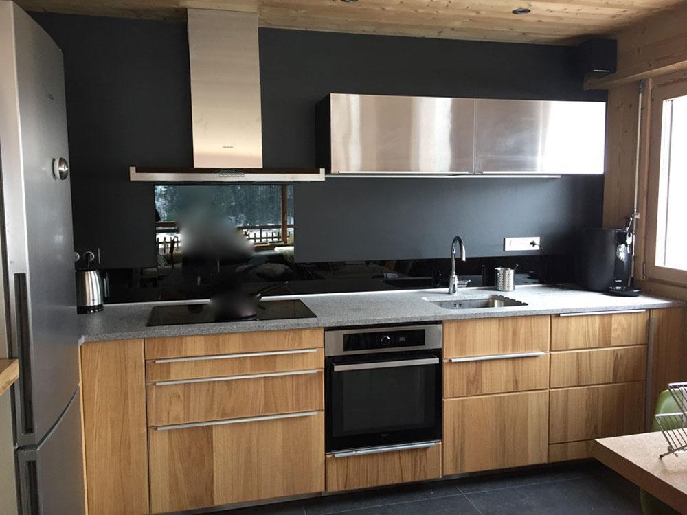 Location au ski Appartement 5 pièces 10 personnes (001) - Residence Le Danay - Le Grand Bornand - Cuisine