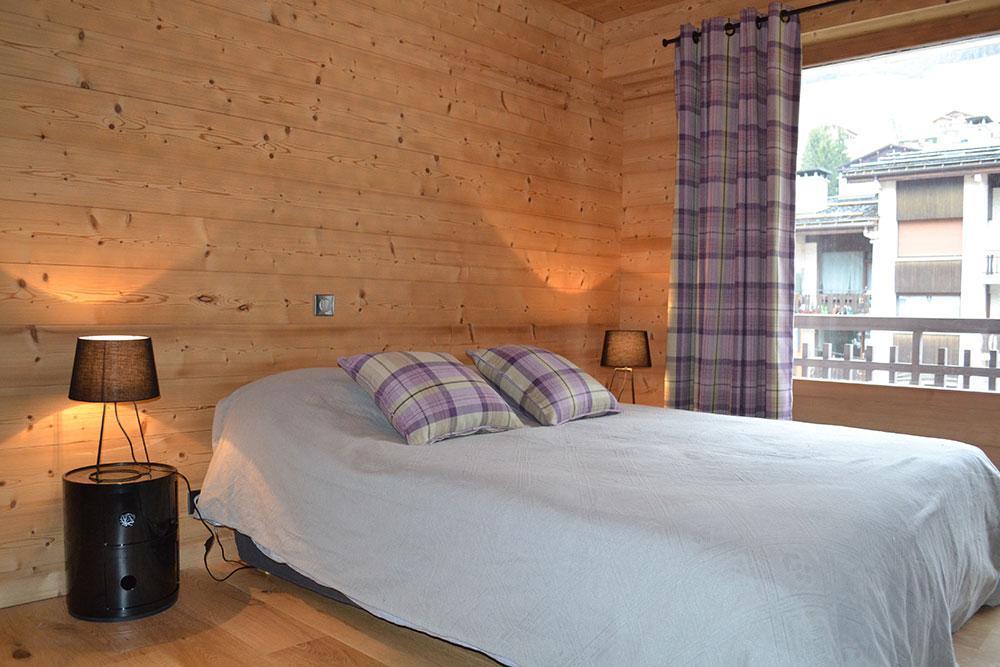 Location au ski Appartement 5 pièces 10 personnes (001) - Residence Le Danay - Le Grand Bornand - Lit double
