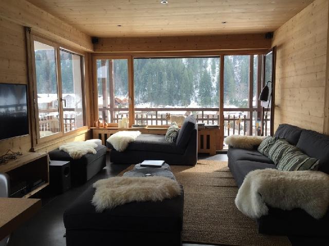 Location au ski Appartement 5 pièces 10 personnes (001) - Residence Le Danay - Le Grand Bornand - Séjour
