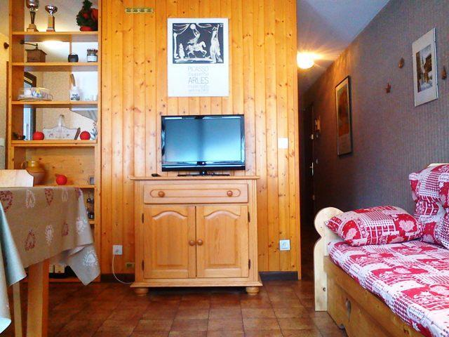 Location au ski Appartement 2 pièces 4 personnes (3061) - Residence Le Tardevant - Le Grand Bornand - Séjour