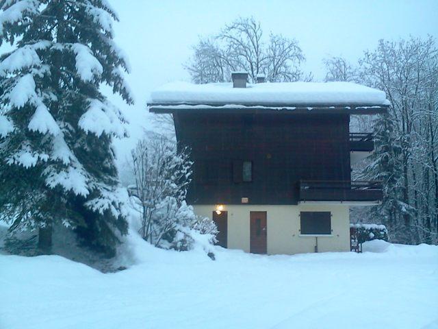 Location au ski Appartement 2 pièces 4 personnes (3061) - Residence Le Tardevant - Le Grand Bornand - Extérieur hiver