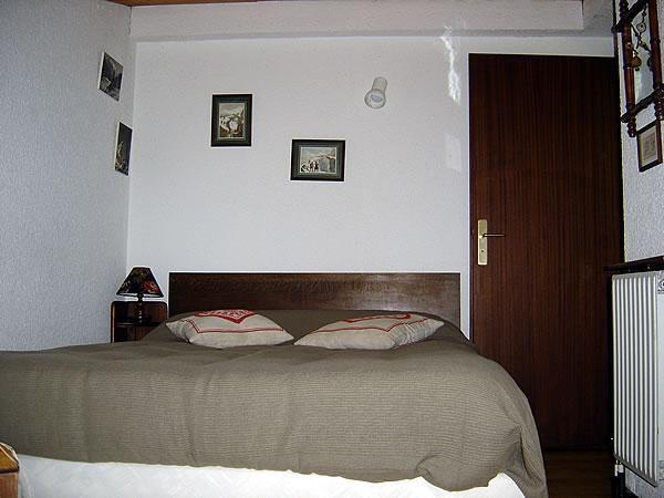 Location au ski Appartement 2 pièces mezzanine 5 personnes (301) - Residence Le Venay - Le Grand Bornand - Chambre