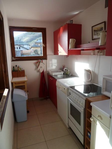 Location au ski Appartement 3 pièces 9 personnes (001) - Residence Les Arces - Le Grand Bornand - Kitchenette
