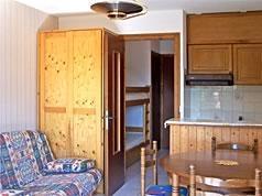 Location au ski Studio coin montagne 4 personnes (102) - Residence Les Bergeronnettes - Le Grand Bornand