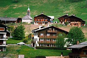Location au ski Appartement 2 pièces 5 personnes (313) - Residence Les Cossires - Le Grand Bornand