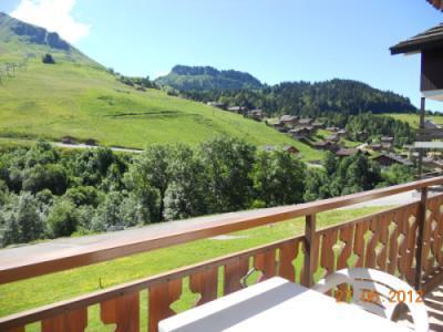 Location au ski Appartement 2 pièces 5 personnes (313) - Residence Les Cossires - Le Grand Bornand - Balcon