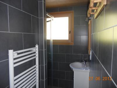 Location au ski Appartement 2 pièces 5 personnes (313) - Residence Les Cossires - Le Grand Bornand - Sèche-serviettes