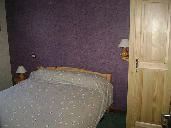 Location au ski Appartement 2 pièces 4 personnes (301) - Residence Les Cottagnes - Le Grand Bornand - Chambre