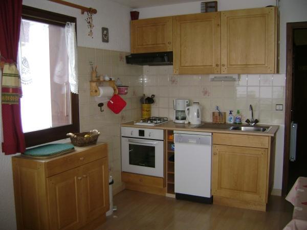 Location au ski Appartement 2 pièces 4 personnes (301) - Residence Les Cottagnes - Le Grand Bornand - Kitchenette