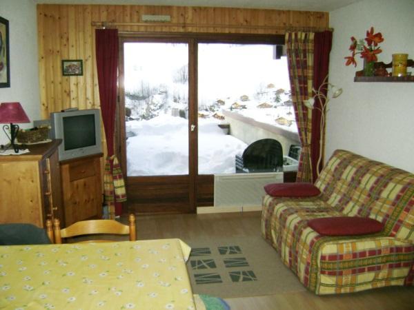 Location au ski Appartement 2 pièces 4 personnes (301) - Residence Les Cottagnes - Le Grand Bornand - Séjour
