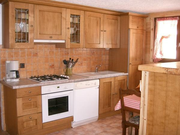 Wynajem na narty Apartament 2 pokojowy 4 osób - Chalet Ch'Armand - Le Grand Bornand - Kuchnia