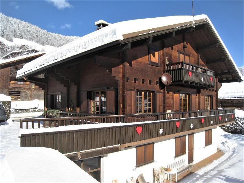 Vacaciones en montaña Apartamento 4 piezas para 8 personas (001) - Chalet le Bris'Orage - Le Grand Bornand - Invierno