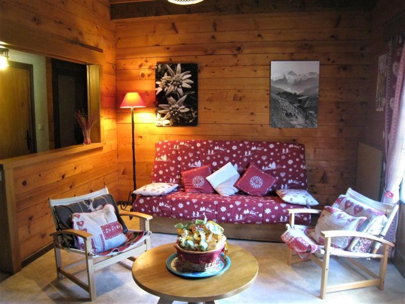 Location au ski Appartement 4 pièces 8 personnes (001) - Chalet le Bris'Orage - Le Grand Bornand - Séjour