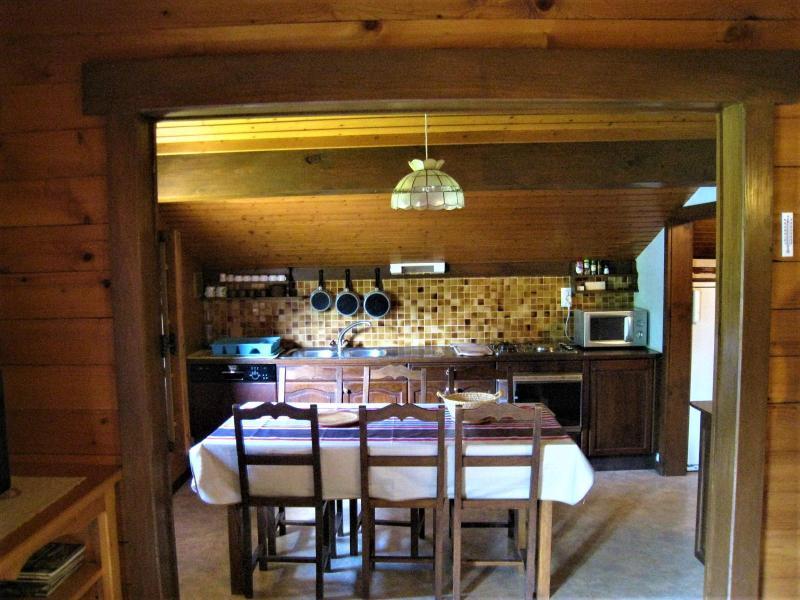 Location au ski Appartement 4 pièces 8 personnes (001) - Chalet le Bris'Orage - Le Grand Bornand - Table
