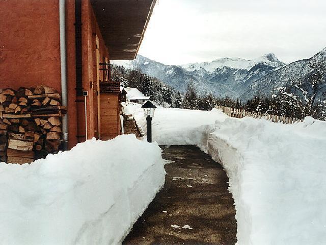 Vakantie in de bergen Studio 4 personen (1) - Chalet Namasté - Le Grand Bornand - Buiten winter