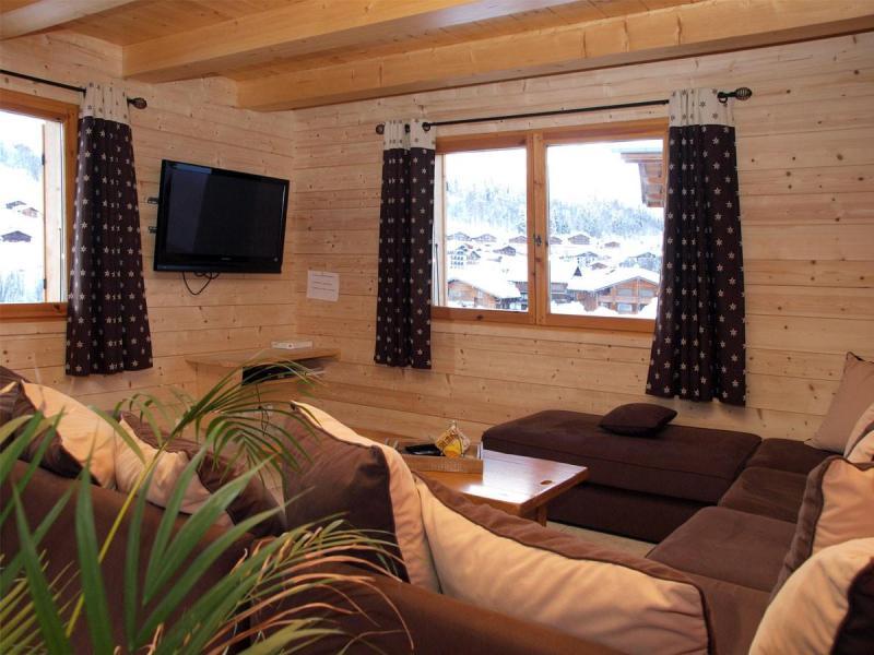 Rent in ski resort 6 room chalet 12 people - Chalet Perle des Neiges - Le Grand Bornand
