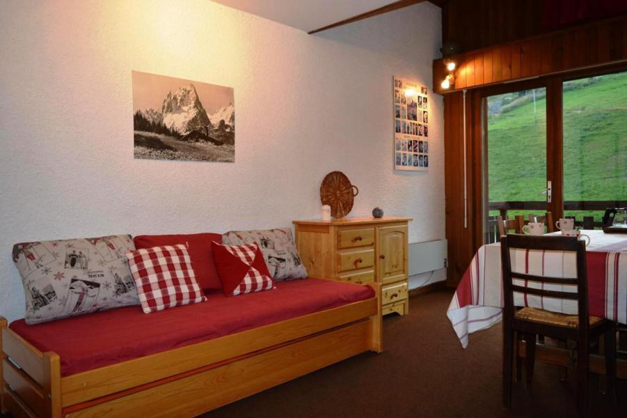 Location au ski Studio coin montagne 6 personnes (56) - La Résidence le Castel des Neiges - Le Grand Bornand - Séjour