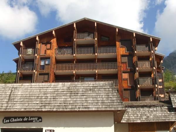 Soggiorno sugli sci Monolocale con alcova per 4 persone (299/301) - Les Chalets de Lessy - Le Grand Bornand