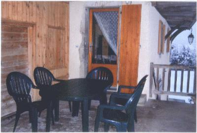Wynajem na narty Maison de l'Envers - Le Grand Bornand - Taras