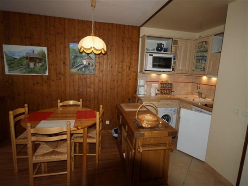 Soggiorno sugli sci Résidence Digitale - Le Grand Bornand - Cucina aperta