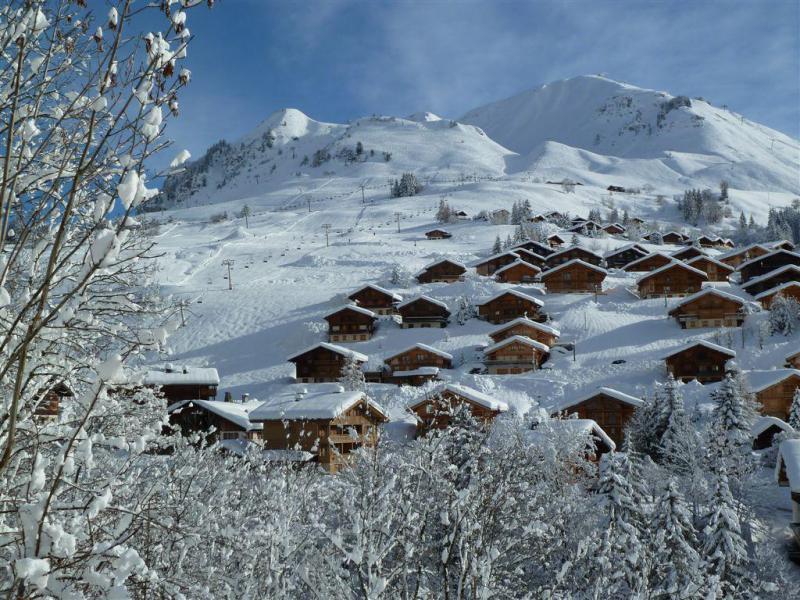 Soggiorno sugli sci Résidence la Corbeille d'Argent - Le Grand Bornand - Esteriore inverno