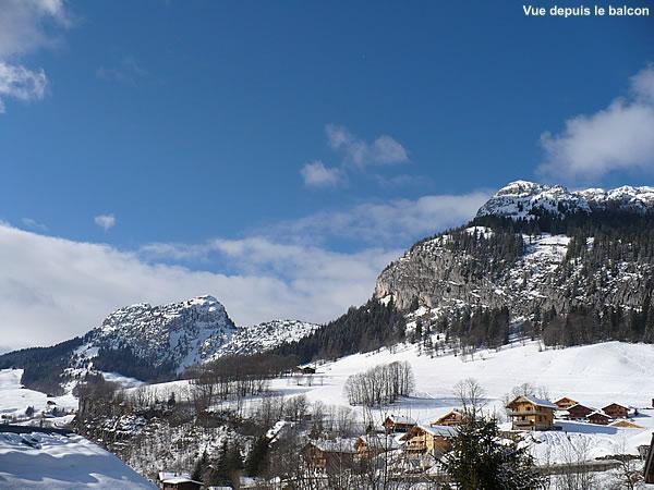 Vacances en montagne Résidence la Dryade - Le Grand Bornand - Extérieur hiver